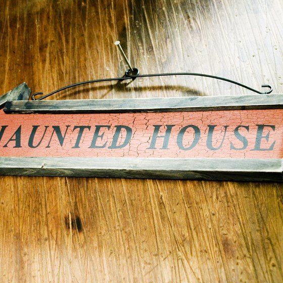 Always get permission before entering a haunted building.