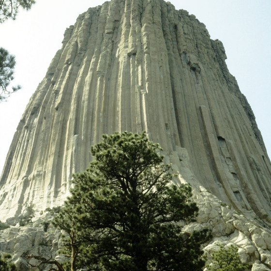 "The Devils Tower was central to the movie ""Close Encounters of the Third Kind."""