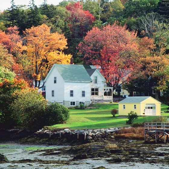 The scenic Maine coastline is a first-class summer sailing destination.