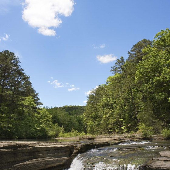 Visit Ozark National Forest, just an hour outside of Fayetteville.