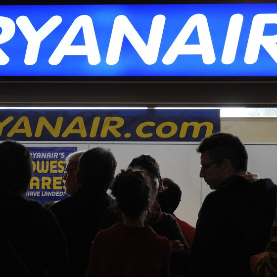 Ryanair provides internal air service in Ireland.