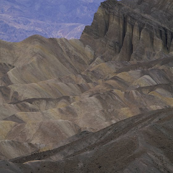 Death Valley National Park has a hot, dry climate.