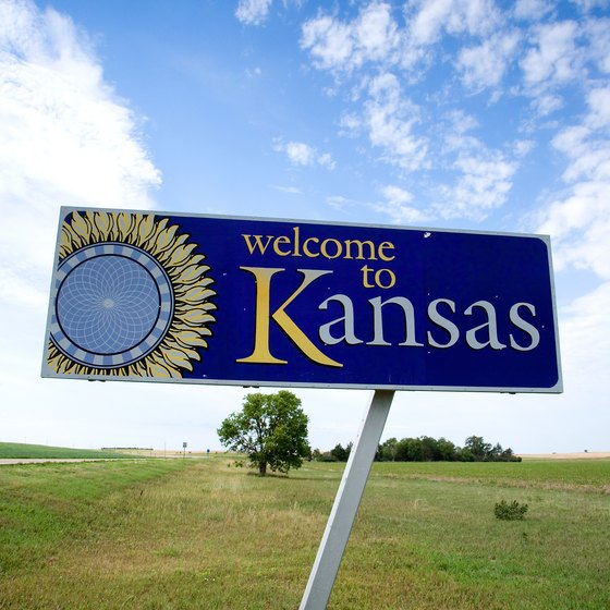 Kids can stretch their legs at several spots along the road through Kansas and Missouri.