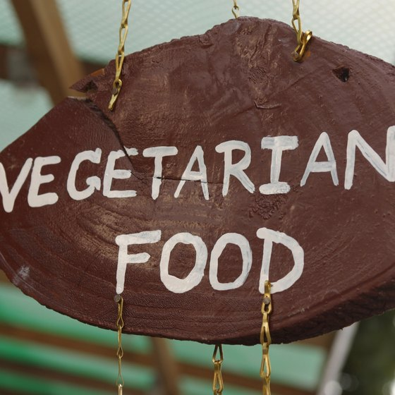 Enjoy vegetarian delights in New York City's Midtown West area.