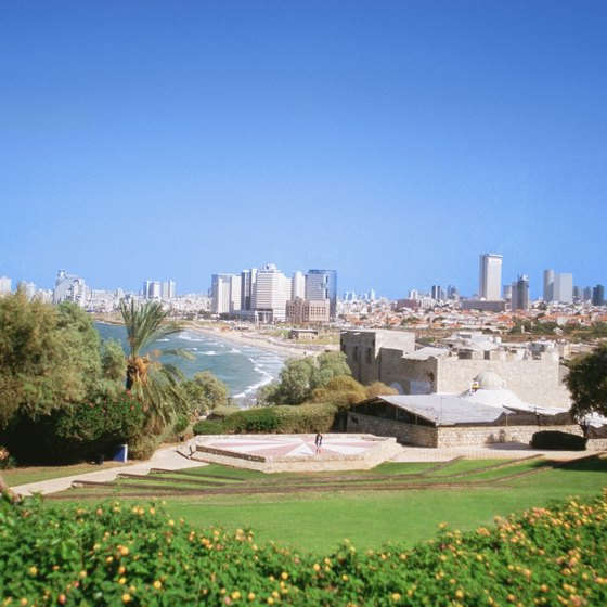 Tel Aviv is a modern city on the Mediterranean coast.