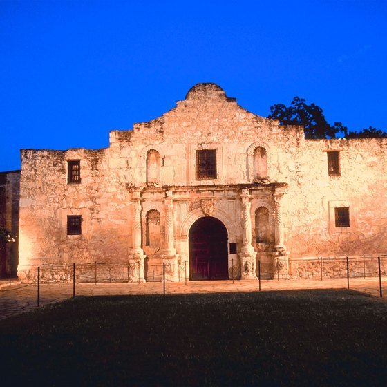 The Alamo is one of the best known historic spots in Texas.