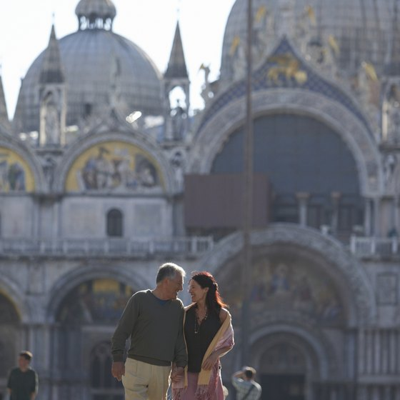 Piazza San Marco in Venice is one of the city's main tourist attractions.