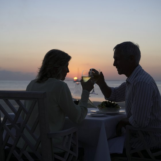 Watch the sunset together on a romantic vacation in the Florida Keys.