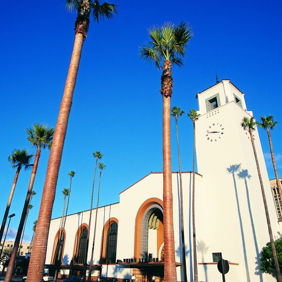 Stay at a hotel close to Union Station and you are only a short walk from the Chinatown district of Los Angeles.