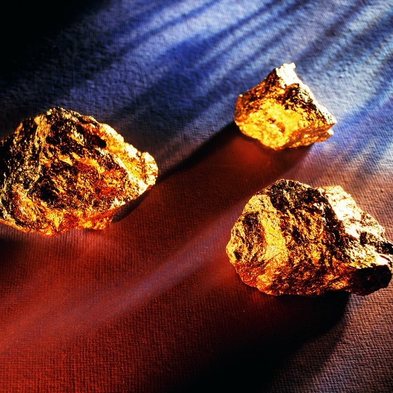 Gold was discovered in North Carolina in 1799.