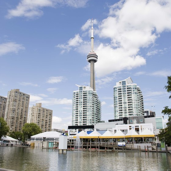 With approximately 2.5 million residents, Toronto is Canada's largest city.