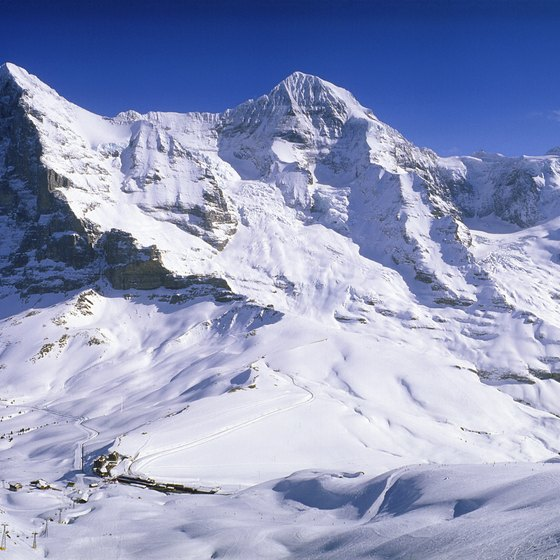 European mountain ranges such as the Alps still yield modest amounts of gold.
