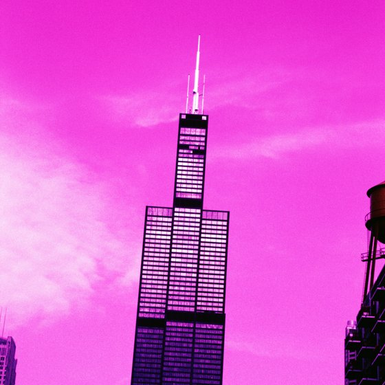 The Willis (formerly Sears) Tower Skydeck is 1,353 feet above ground.
