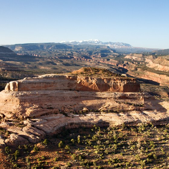 Views in Canyonlands National Park