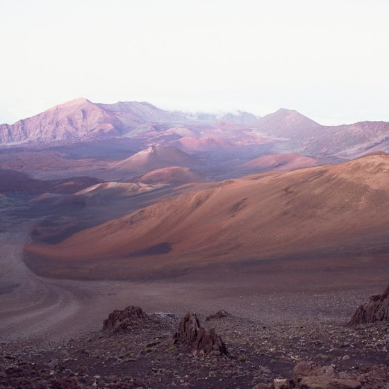 Explore Maui's interesting terrain on horseback with visits to places like Haleakala Crater.