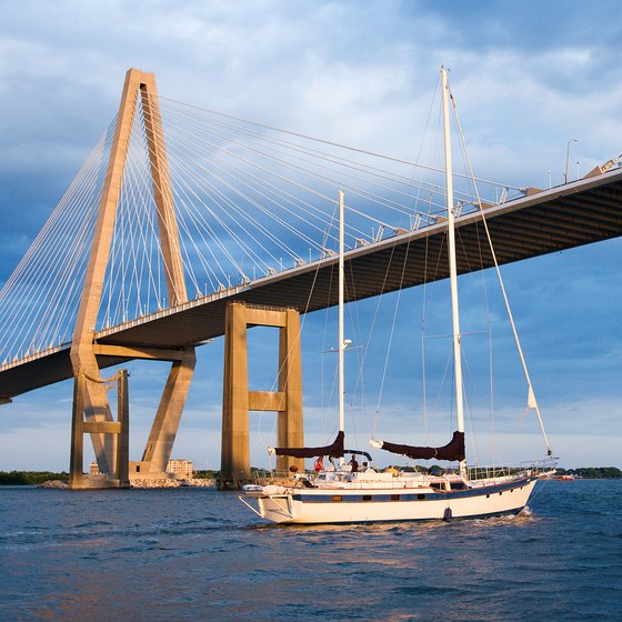 The waters off Charleston and other parts of the South Carolina coast provide diners with fresh seafood daily.