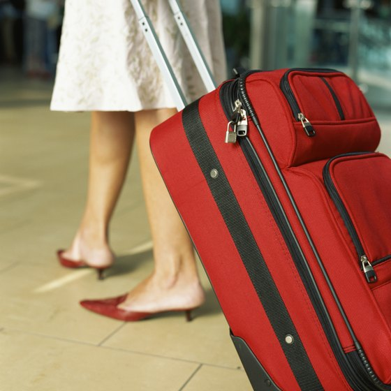Left luggage facilities are ideal for storing oversize bags.