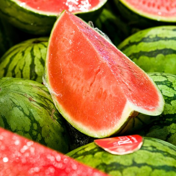 The fruit is the focus at the annual Rush Springs Watermelon Festival.