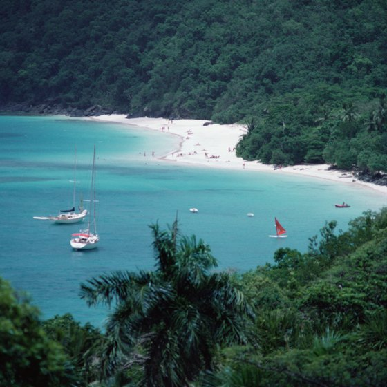 Trunk Bay on St. John island is a prime snorkeling locale.
