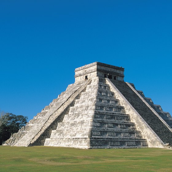 The ancient Mayan civilization of Chichen Itza was founded A.D. 514.