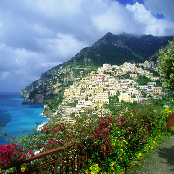 In the warmer months, Positano is a launching point for boat tours of Capri.