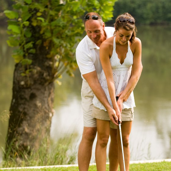 Play a round of golf in Bluffton.