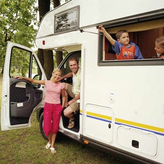 RV vacations allow children to experience the beauty of the outdoors.