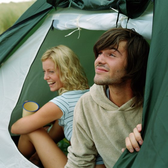 Whether you're in a tent or RV, you can camp from about May to October near Annandale.