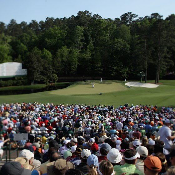 Crowds flock to Augusta each April for the Masters.