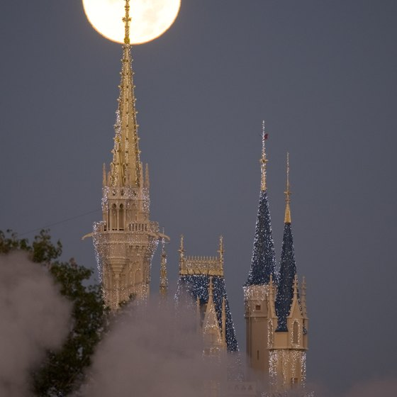 Cinderella Castle is a Walt Disney World icon.