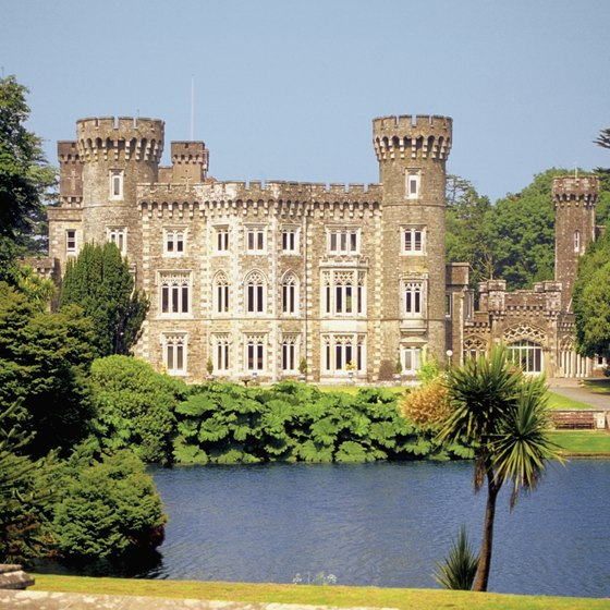 Some of Ireland's greatest jewels, like Johnstown Castle in County Wexford, are on rivers.