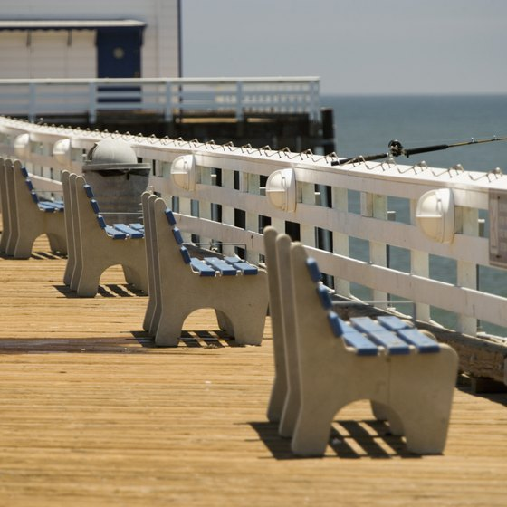 Malibu's historic pier is one of its most versatile attractions.