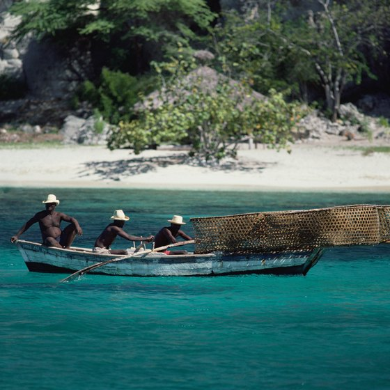 The deep, blue waters of Haiti's lakes offer abundant photo opportunities.