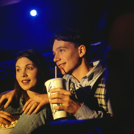 You can enjoy a date night at a theater in Anoka.