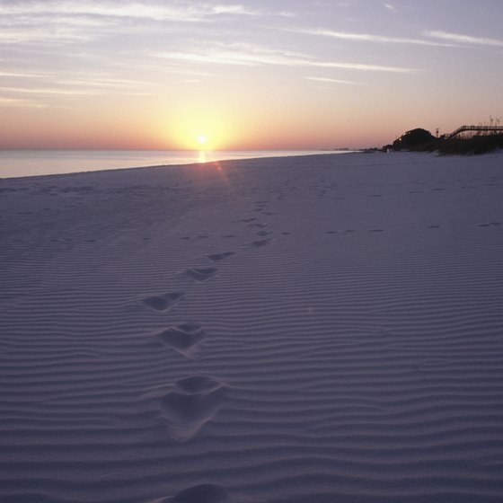 Part of the Emerald Coast, Fort Walton Beach boasts renowned white-sand beaches.