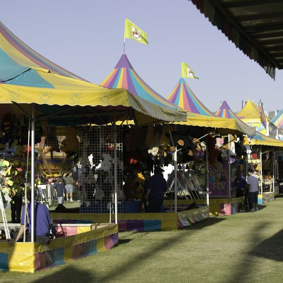 Annual fairs around Sharon draw thousands of visitors.