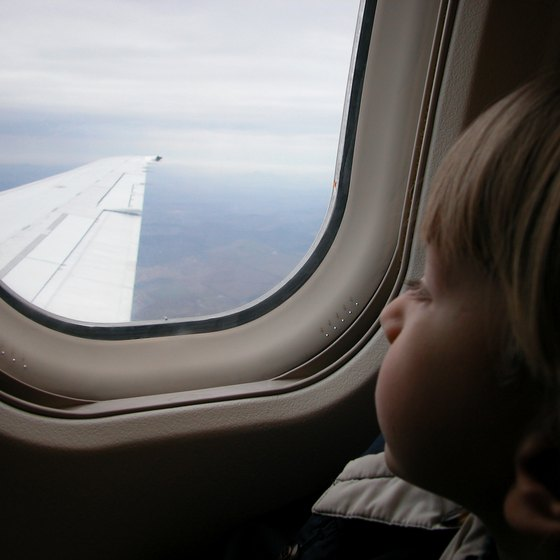 Preparation is the key to a successful flight with your child.
