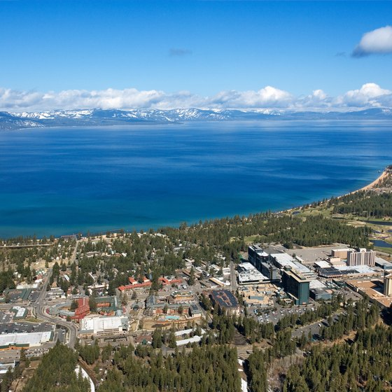 Crystal Bay is next to Tahoe, Nevada.