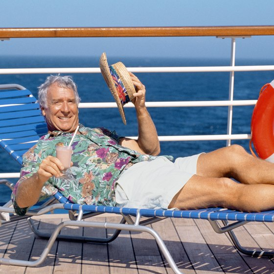After boarding, relax on the sun deck to enjoy all the sights and sounds of embarking.