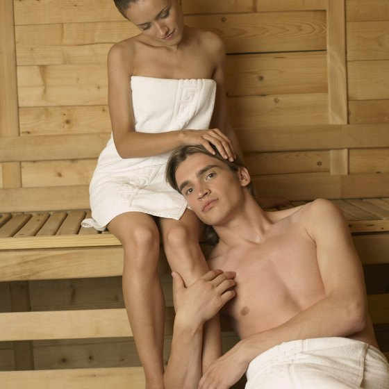 Relax and rejuvenate at an Atlanta spa with your sweetheart.