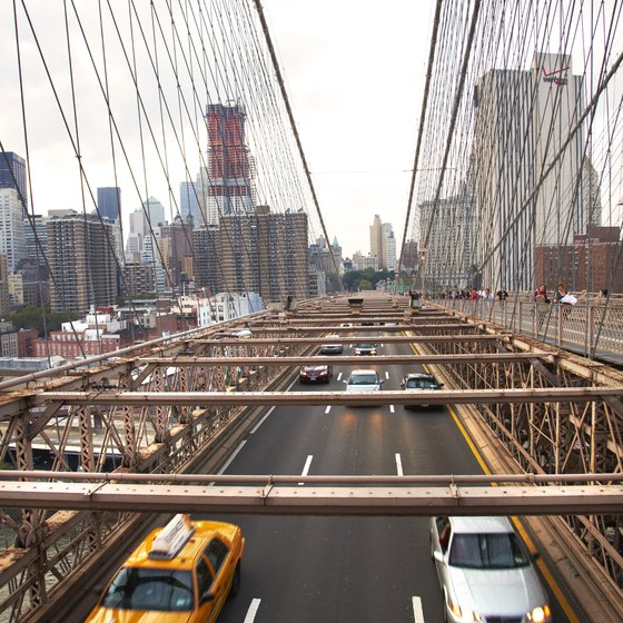 New York is the departure point for many escorted tours.