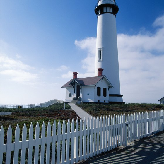Pigeon Point Lighthouse offers overnight lodging to the public.