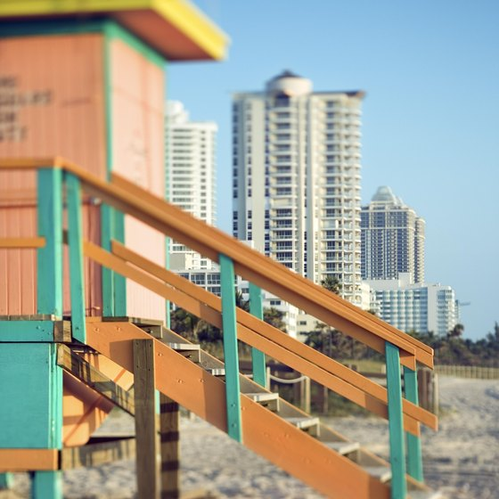 Miami's white sand beaches are a major draw for visitors.