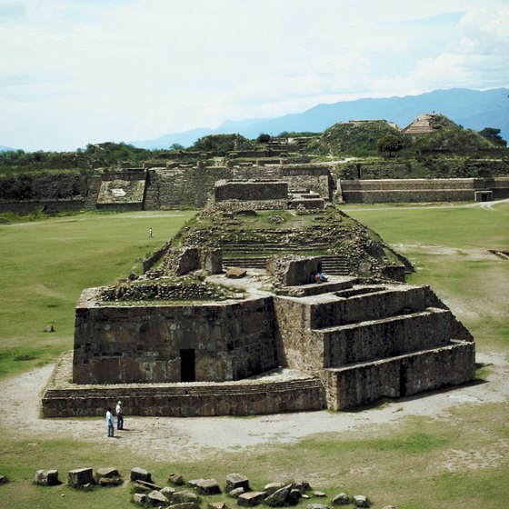 To explore ancient ruins in Oaxaca state, add the bus routes to your transportation options.