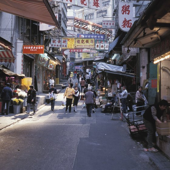 Wandering Hong Kong's open-air markets is a fine way to spend an afternoon.