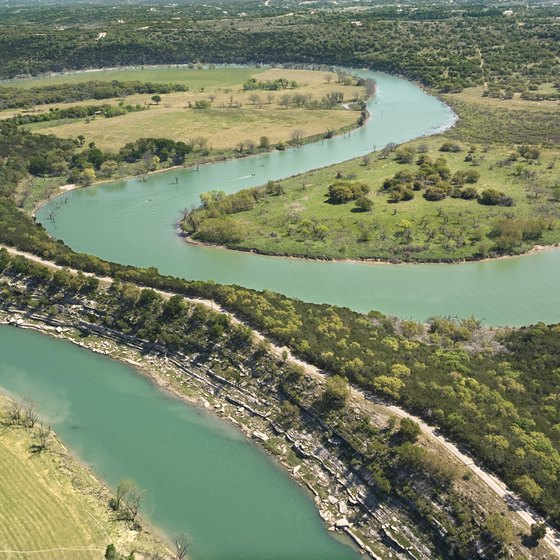 The Guadalupe River offers 75 miles of whitewater action.