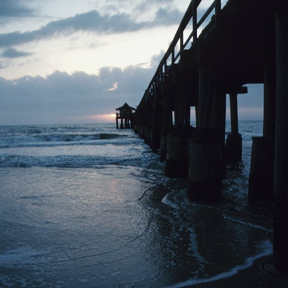 Naples Municipal Beach and Pier is within 35 minutes of Estero, Florida.