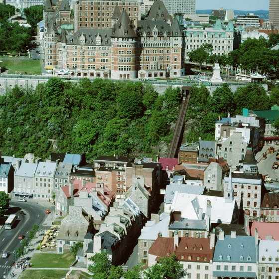 Quebec City is one of several Canadian cities you can reach from Orlando, Florida by air.