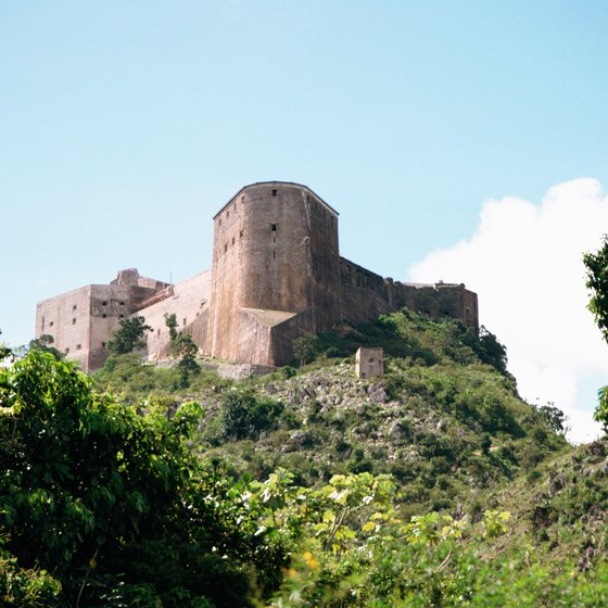 The Citadel in Haiti remains one of the nation's most notable historical landmarks.