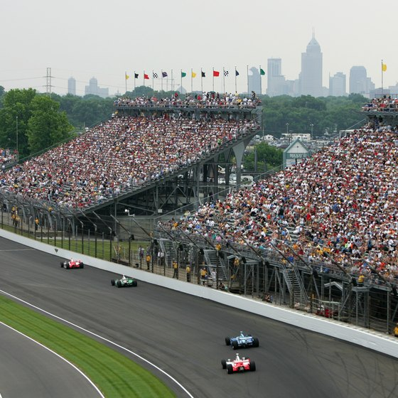 The Indianapolis Motor Speedway is one of the city's biggest attractions.